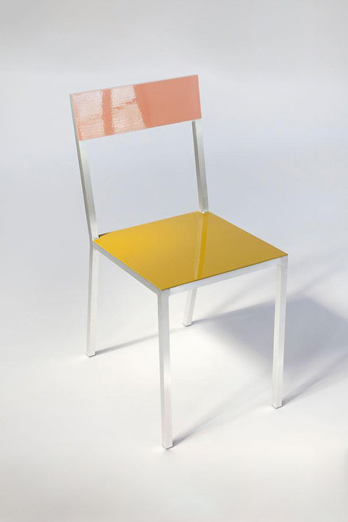 CHAIR #2 - PINK/CURRY