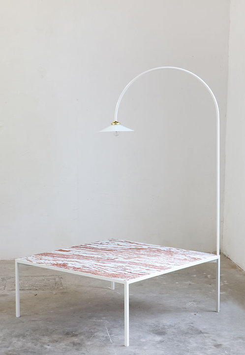 LOW TABLE + LAMP - MARBLE