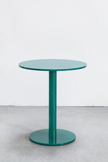 Muller Van Severen Indoor/Outdoor Table Industrial Hospitality Residential Aluminum Modern Contemporary Steel Front Green