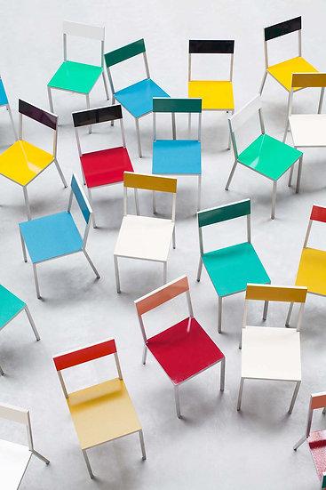 muller van severen chair colourful alu contemporary design indoor outdoor furniture aluminium seating