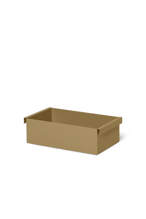 PLANT BOX CONTAINER - OLIVE