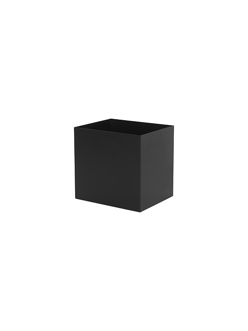 PLANT BOX POT - SMALL - BLACK