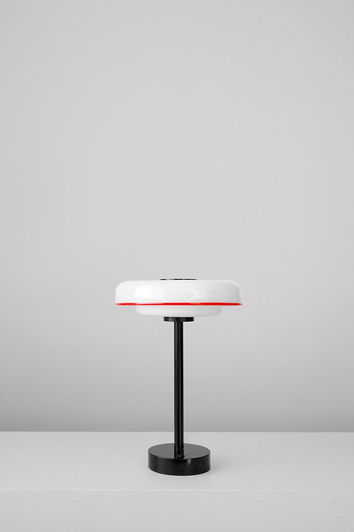 DISC RIMMED TABLE LAMP