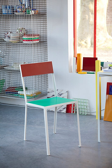 Muller Van Severen First Chair - Colourful seating by Belgian designers available in Canada