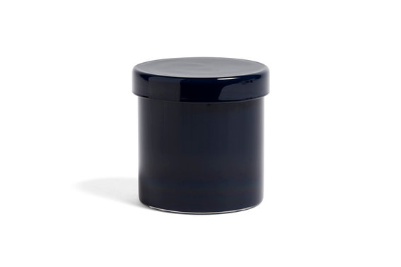 Container by HAY in Dark Blue. A perfect catchall for any room of the home or office - wherever small things gather!