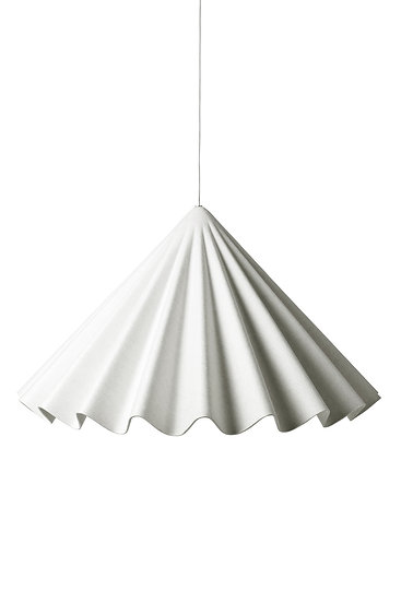 PLEATED PENDANT