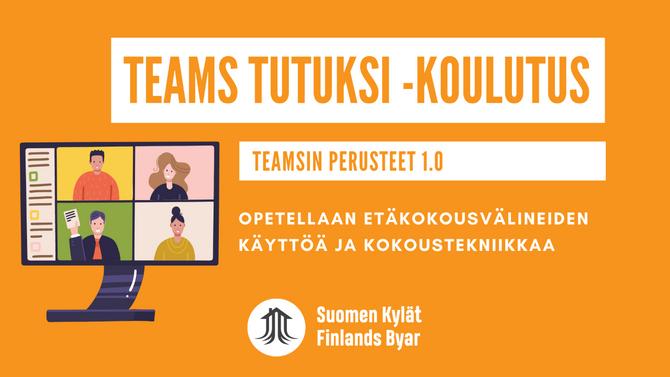Tervetuloa Teams-peruskoulutukseen 30.9.2021