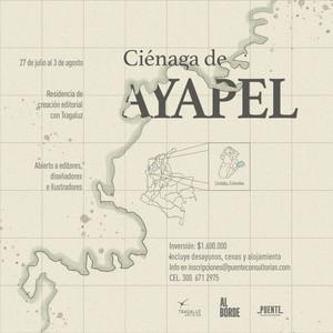 Residencia Editorial en la Ciénaga de Ayapel