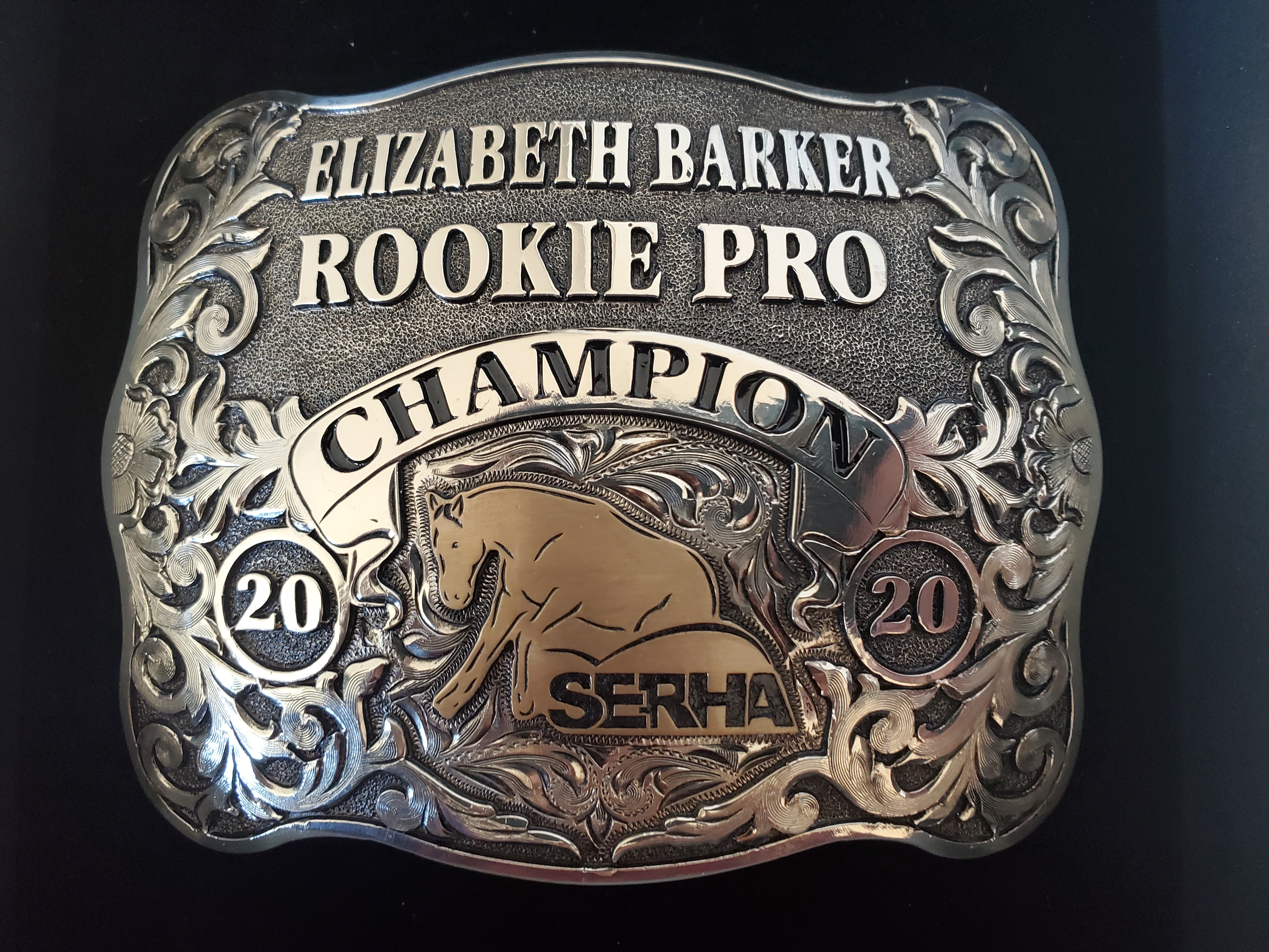 2020 Rookie Professional Champion SERHA