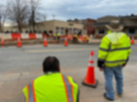 Construction continues on Victoria Street