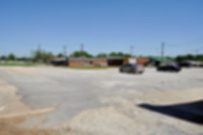 South Depot Parking Lot before paving