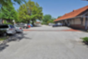 Depot Parking Lot before paving