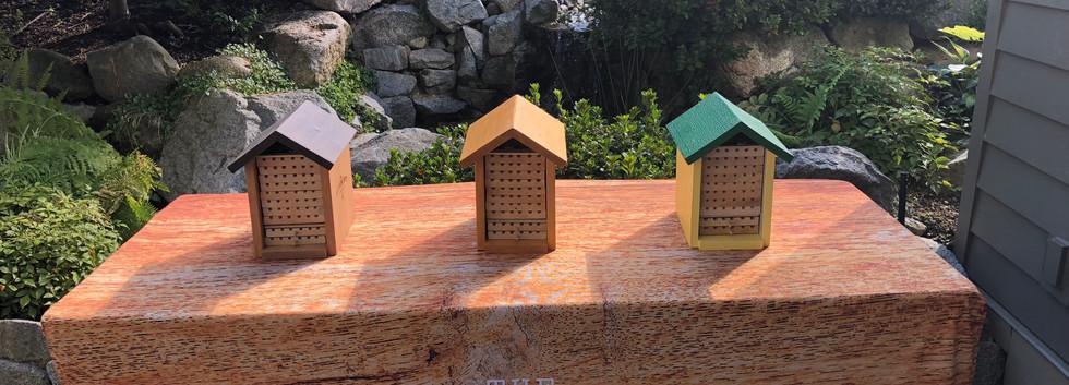 Alpine Mason Bee Houses