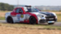 Abarth 124 Rally - CIAMIN Nicolas / VILANOVA Anthony