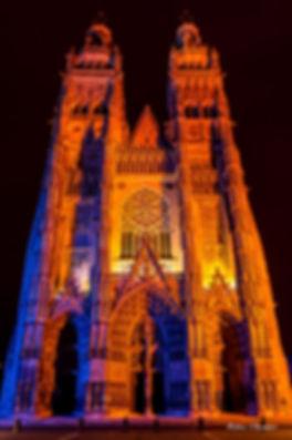L'heure bleu cathédrale tours