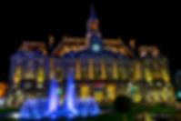 heure bleu hotel de ville nuit