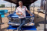 françois allain,voiture,bleu