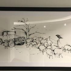 Bob Gleeson's Painting