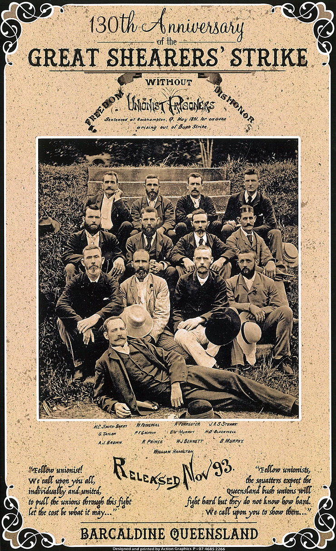 130th Anniversary Great Shearers Strike