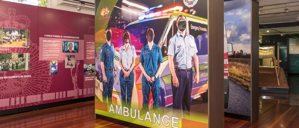 Exhibition Block B - Qld Health & Ambulance Display