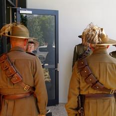 Australian Light Horsemen and women Troop
