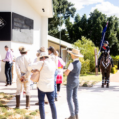 AWHC Entrance with Queensland Mounted Police