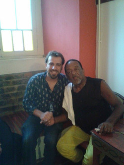 Rafael Pavão e Naná Vasconcelos