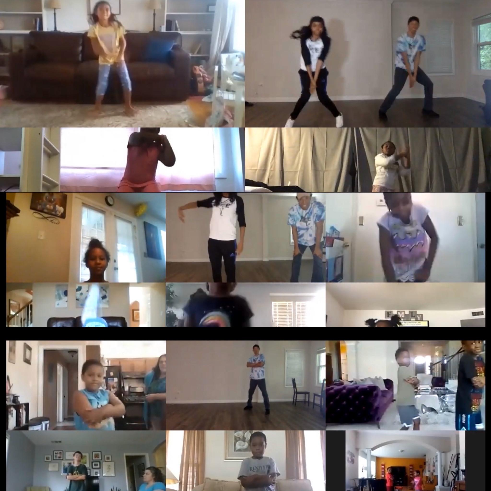 Kids Virtual Dance Class 5pm Sept