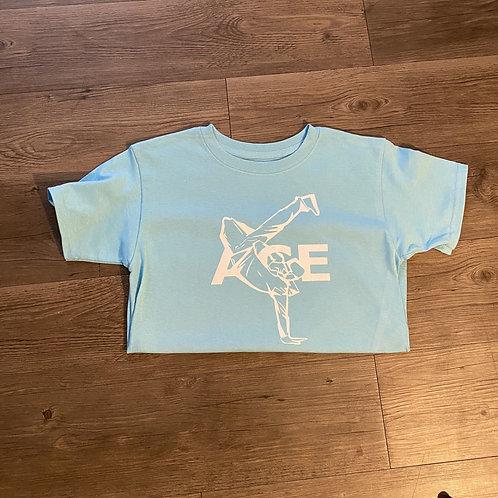 Sky Blue Ace Logo Shirt