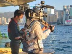 Cameraman-Hong-Kong-LiveU-streaming-vide