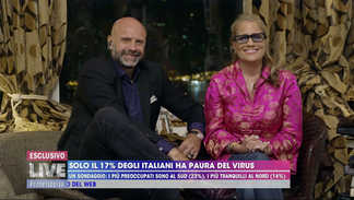 Live from Hong Kong with Barbara D'Urso on Covid-19