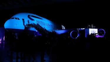 Leona Lewis | Bleeding Love | British Airways Gig On A Wing Boeing Airbus A380