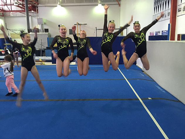 gymnastics size is the competitors edge The northlands choice for gymnastics, cheerleading, parkour, urban gymnastics, birthday parties, open gym and pre-school movement and tumbling.