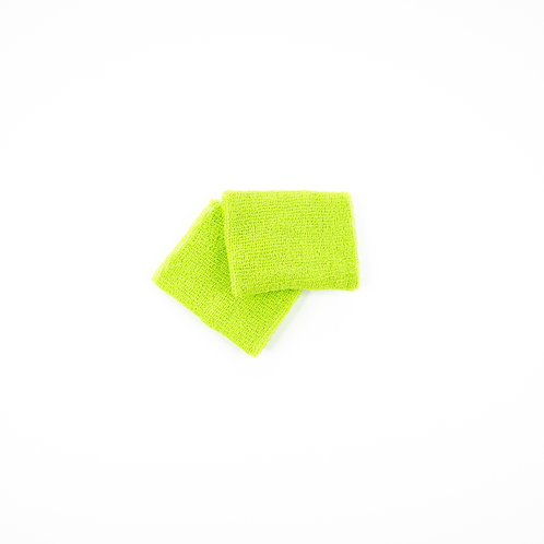 Green sweat bands (2)