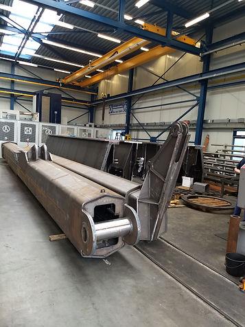 Heavy duty  13 tons walswiel en crane bo
