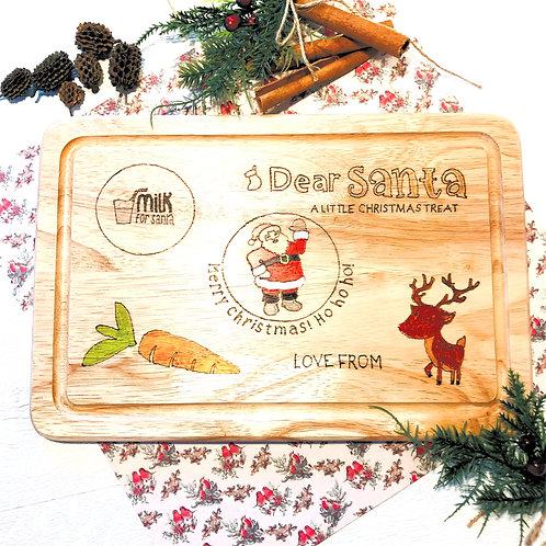 Personalised Santa Treat Board