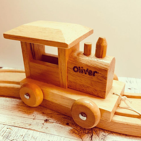 Magnetic Wooden Train