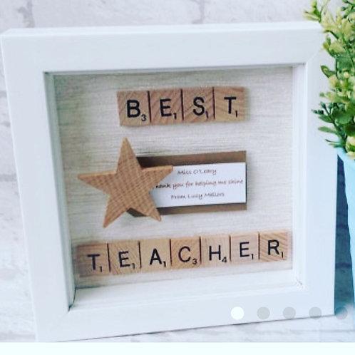 Best Teacher Frame