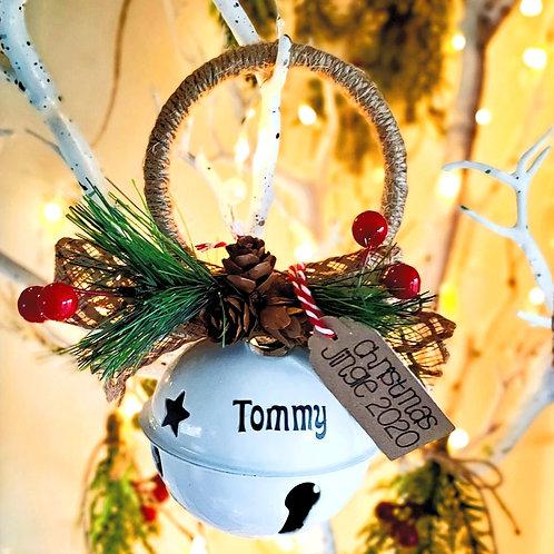 Handheld Personalised Jingle Bell