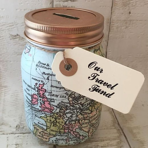Travel Fund Savings Jar