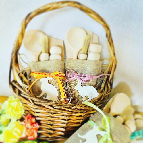 Personalised Easter Children's Baking Set