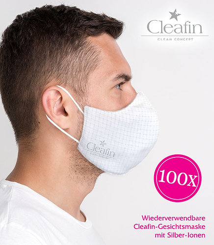Wiederverwendbare Gesichtsmaske Gr. L, 100 VE