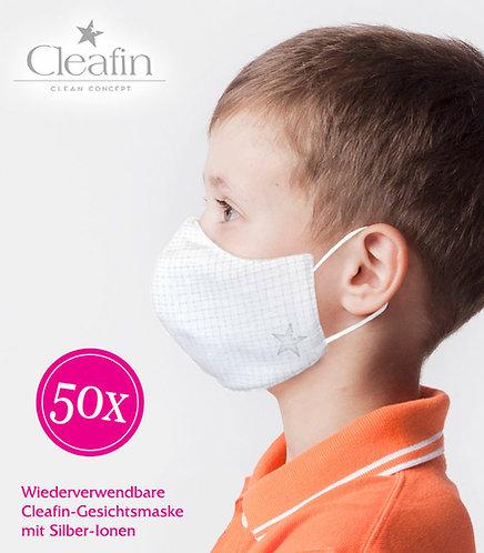 Wiederverwendbare Gesichtsmaske Gr. S, 50 VE