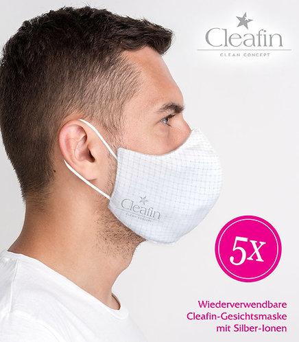 Wiederverwendbare Gesichtsmaske Gr. L, 5 VE