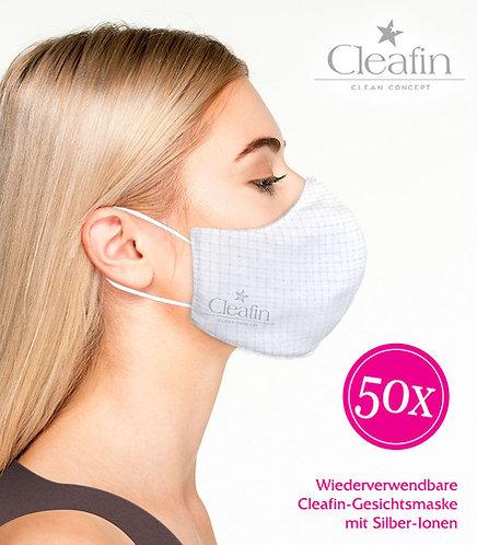 Wiederverwendbare Gesichtsmaske Gr. M, 50 VE