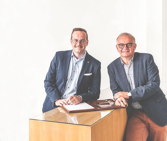 Oliver Steiner und Fritz Steiner