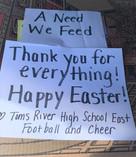 TomsRiverHighSchool_EasterThanks_ANeedWe