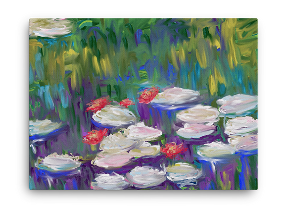 """""""Water Lily"""" 00.3 Canvas"""