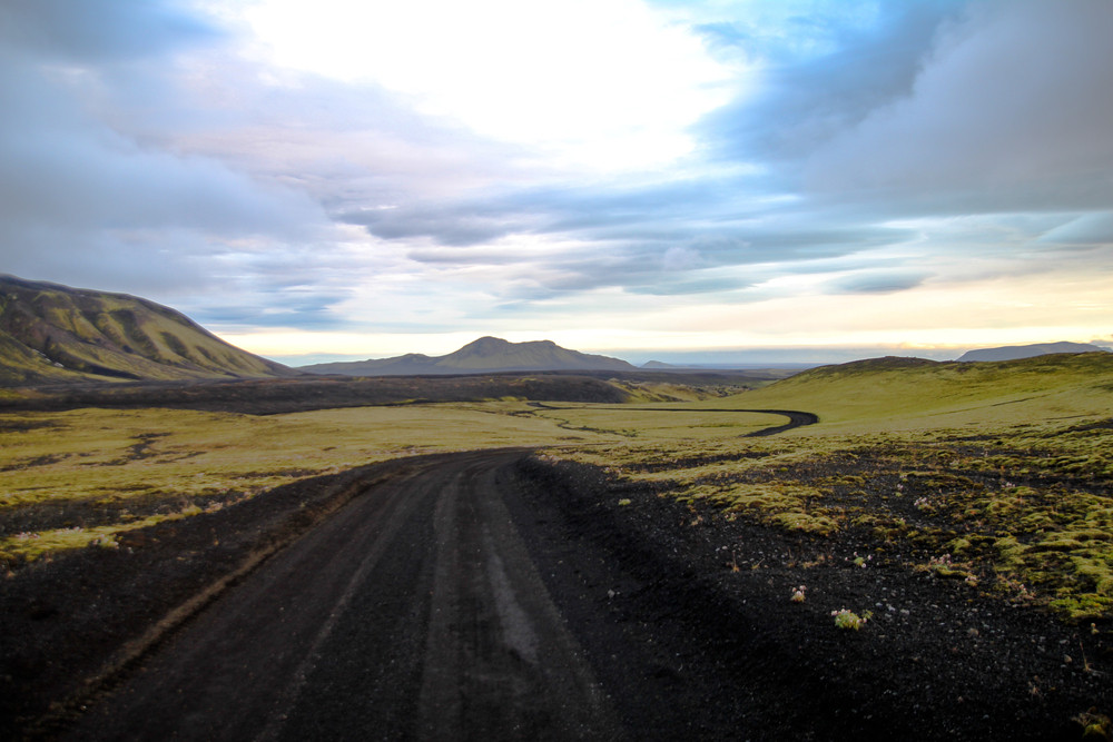 F-Road in Iceland. Can you use a campervan to drive on it?