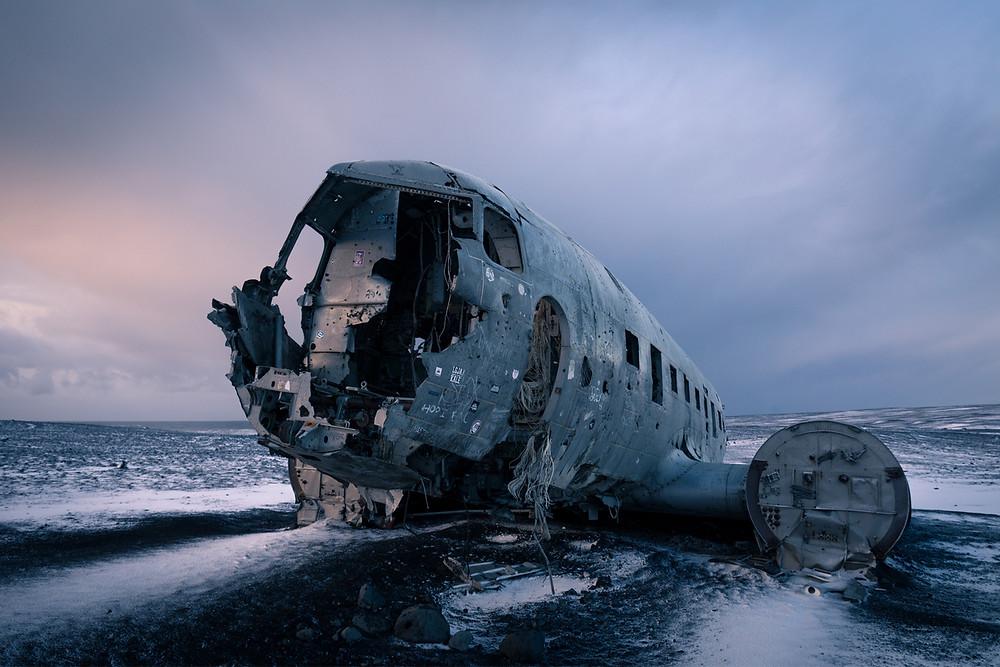 Iceland South Coast Solheimasandur plane wreck